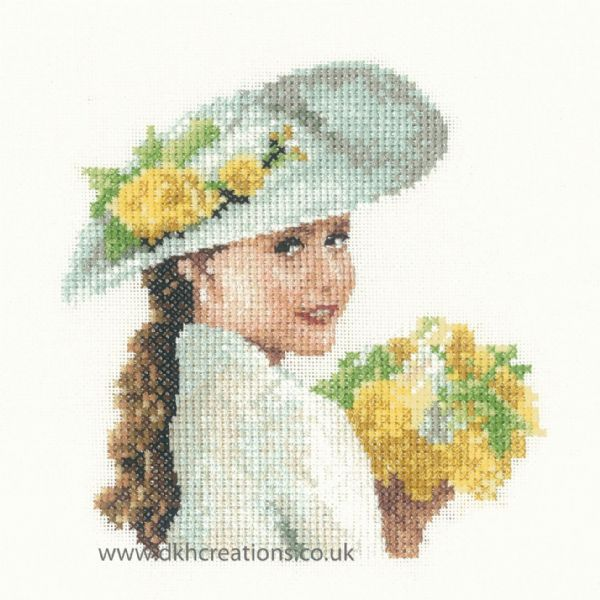 Alice Miniature Evenweave Cross Stitch Kit